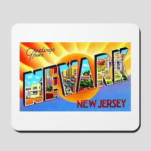 Newark New Jersey Greetings Mousepad