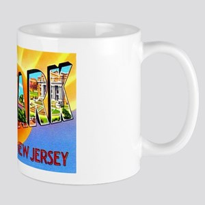 Newark New Jersey Greetings Mug