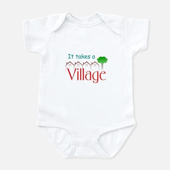 It Takes A Village Infant Bodysuit