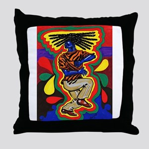 Jammin' Print Throw Pillow