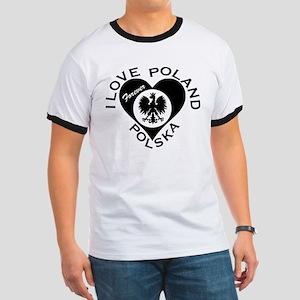 Polska-IlovePoland Forever Ringer T