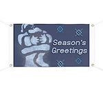 Santa Season's Greetings Banner