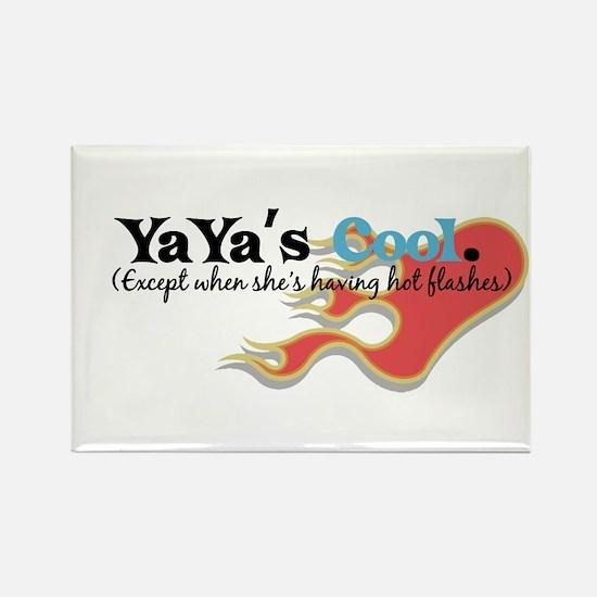 YaYa's Hot Flashes Rectangle Magnet