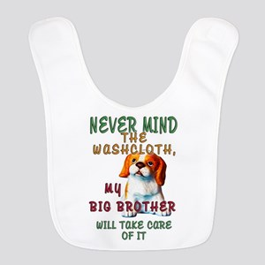 Never Mind for Boy or Girl Polyester Baby Bib