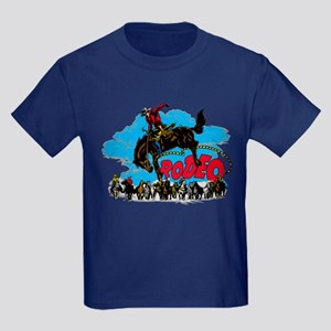 Rodeo Roundup Kids Dark T-Shirt