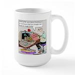 Planned Computer Obsolescence Large Mug