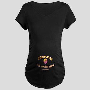 MISS DENNY Maternity Dark T-Shirt