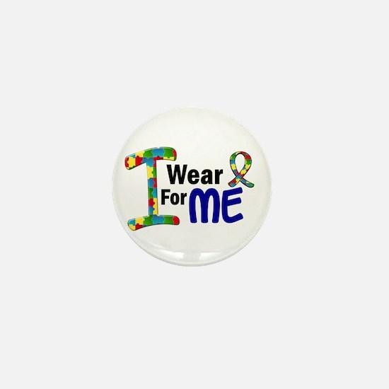 I Wear Puzzle Ribbon 21 (ME) Mini Button