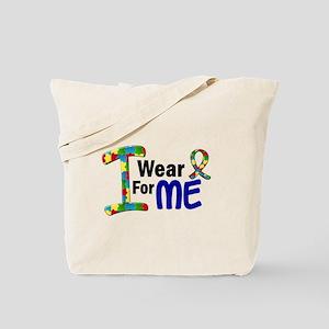 I Wear Puzzle Ribbon 21 (ME) Tote Bag