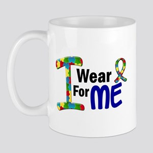 I Wear Puzzle Ribbon 21 (ME) Mug