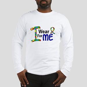 I Wear Puzzle Ribbon 21 (ME) Long Sleeve T-Shirt