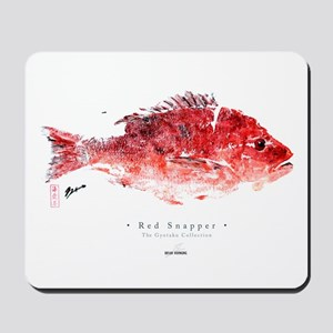 """""""Red Snapper"""" Mousepad"""