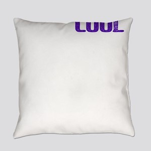Old School Olds Cool Funny Over th Everyday Pillow
