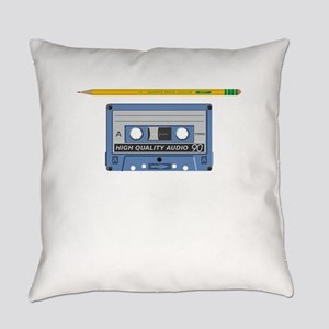 Old School Never Forget Rewinding Everyday Pillow