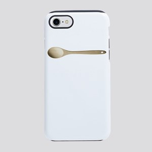 Old School Mom Wooden Spoon iPhone 8/7 Tough Case