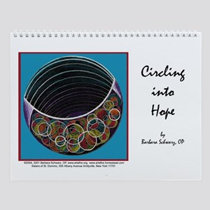 Circling into Hope Wall Calendar