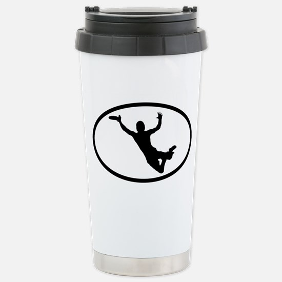 Disc Stainless Steel Travel Mug