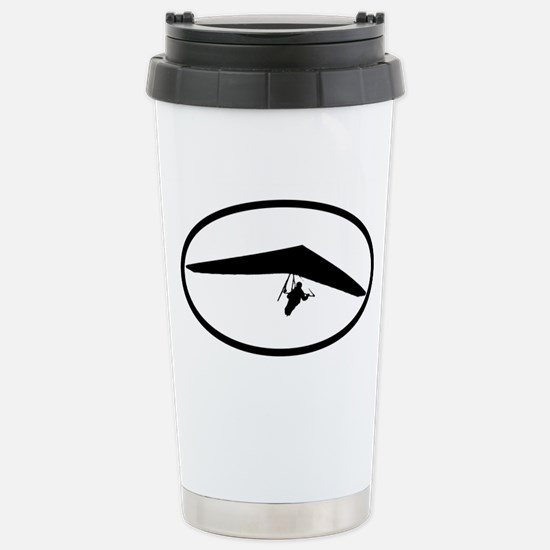 Hang Gliding Stainless Steel Travel Mug