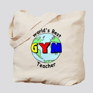 World's Best Gym Teacher Tote Bag
