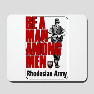 Rhodesian Army Poster Mousepad