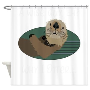 Sea Otter Shower Curtains