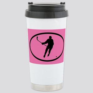 WOMEN'S HOCKEY Stainless Steel Travel Mug