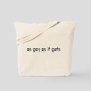 as goy as it gets 2 Tote Bag