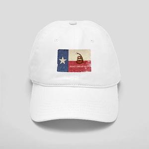 Texas and Gadsden Flag Baseball Cap