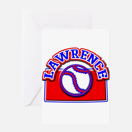 Lawrence Baseball Greeting Card