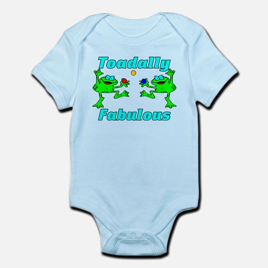 Toadally Fabulous Infant Bodysuit