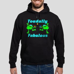 Toadally Fabulous Hoodie (dark)