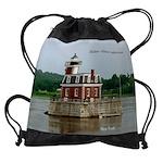 Hudson Athens Lighthouse Drawstring Bag