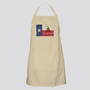 Texas and Gadsden Flag Light Apron