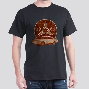 66 Charger Distressed Dark T-Shirt