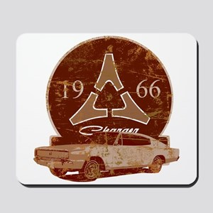 66 Charger Distressed Mousepad
