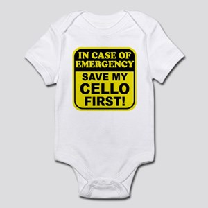 Save My Cello Infant Bodysuit