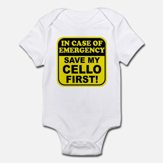Save My Cello Infant Bodysuit