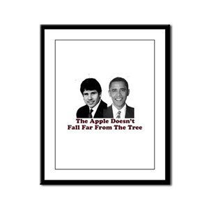 The Apple Doesn't Fall Far fr Framed Panel Print