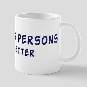 Stateless persons do it bette Mug