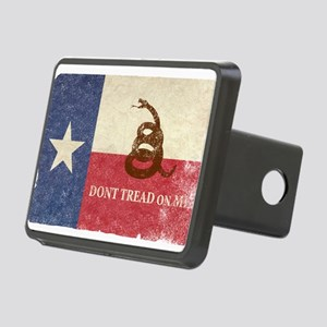 Texas and Gadsden Flag Hitch Cover
