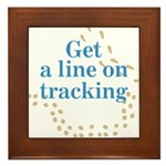 Line On Tracking Framed Tile