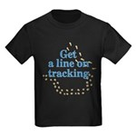 Line On Tracking Kids Dark T-Shirt