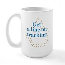 Line On Tracking Large Mug