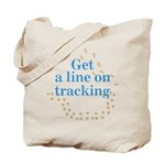Line On Tracking Tote Bag
