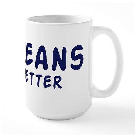Eritreans do it better Large Mug