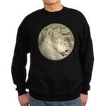 Shiba Inu Dog Sweatshirt (dark)