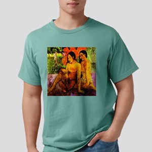 gold of their bodies Gauguin Ash Grey T-Shirt