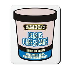 Census Cheesecake Mousepad