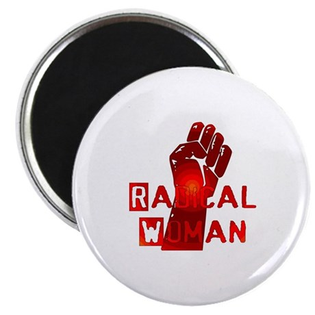 "Radical Woman 2.25"" Magnet (100 pack)"