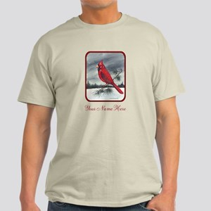 Cardinal on Pine Light T-Shirt